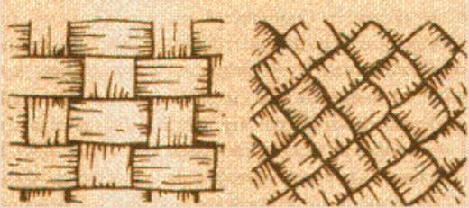 Одни плели лапти в четыре лыка